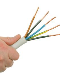 Kabelquerschnitt berechnen - NYM 5 x 2,5 mm²